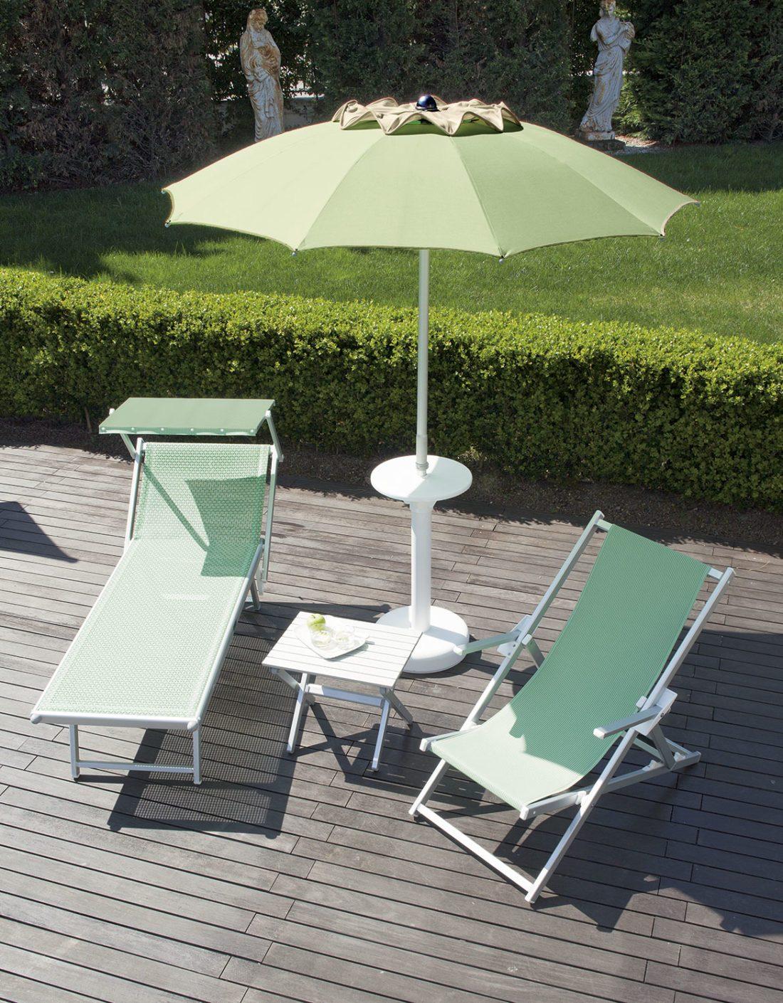 Ombrellone classico soffietto - Tessitura Selva - arredi e attrezzatura da spiaggia e giardini