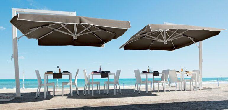ombrellone maxi - Tessitura Selva - arredi e attrezzatura da spiaggia e giardini
