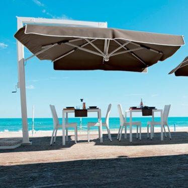 ombrellone - Tessitura Selva - arredi e attrezzatura da spiaggia e giardini