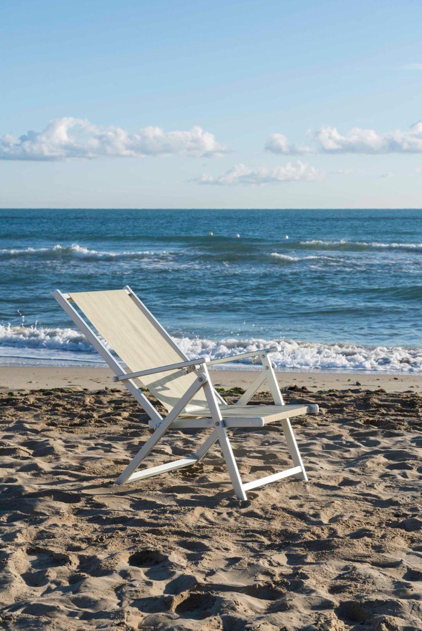 sedia spiaggia - Tessitura Selva - arredi e attrezzatura da spiaggia e giardini