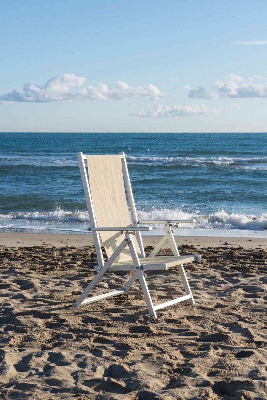 Sedia Marinella da spiaggia - Tessitura Selva - arredi e attrezzatura da spiaggia, piscina e giardini