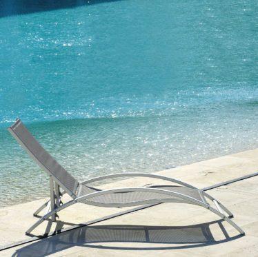 Lettino Sunset - Tessitura Selva - arredi e attrezzatura da spiaggia e giardini