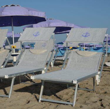 Lettino prendisole da spiaggia - Tessitura Selva - arredi e attrezzatura da spiaggia, piscina e giardini