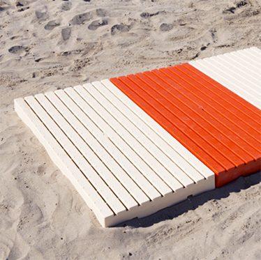 pedane spiaggia - Tessitura Selva - arredi e attrezzatura da spiaggia e giardini