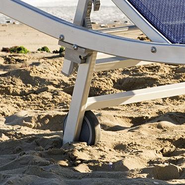 ruote - Tessitura Selva - arredi e attrezzatura da spiaggia e giardini