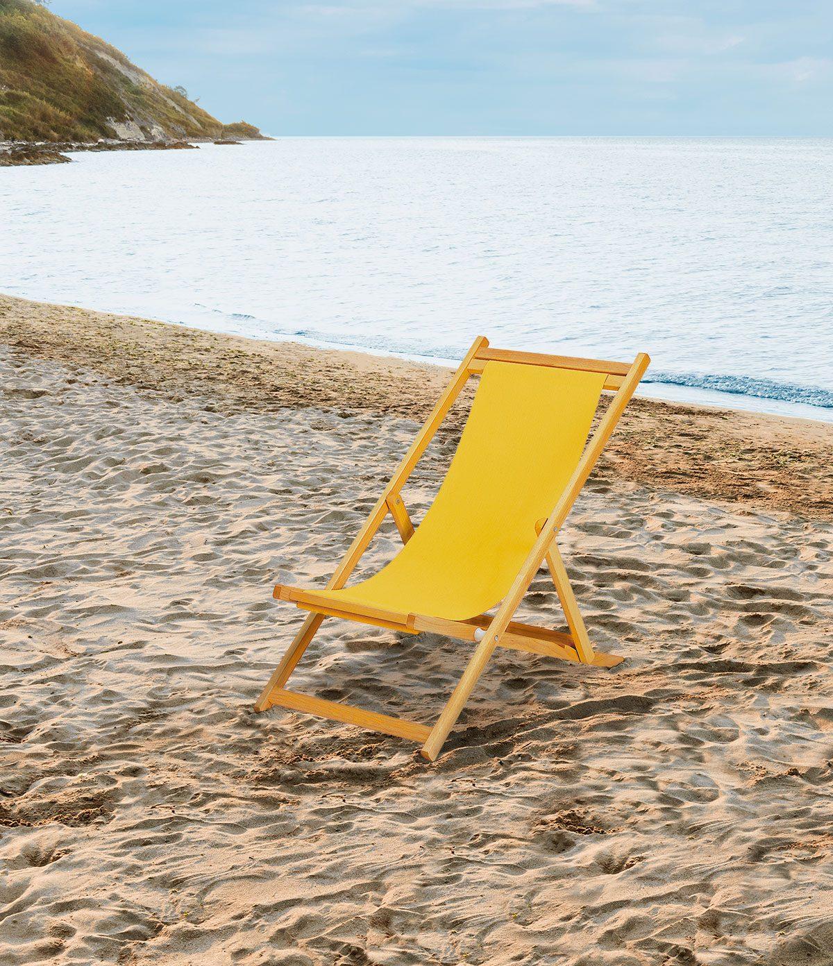 Sdraio Da Spiaggia In Legno.Sdraio Da Spiaggia E Mare In Alluminio E Legno