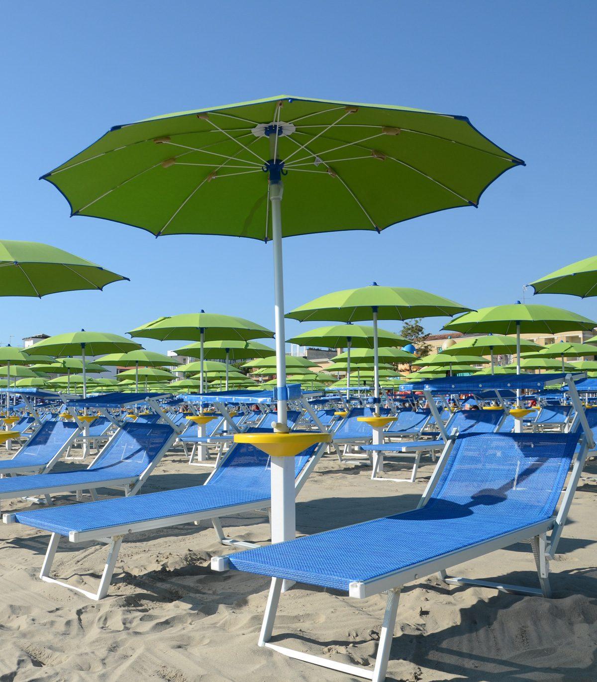 Ombrelloni Per La Spiaggia.Ombrellone Da Spiaggia Classico