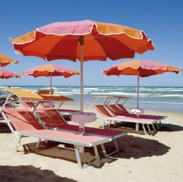 Ombrello classico - Tessitura Selva - arredi e attrezzatura da spiaggia e giardini