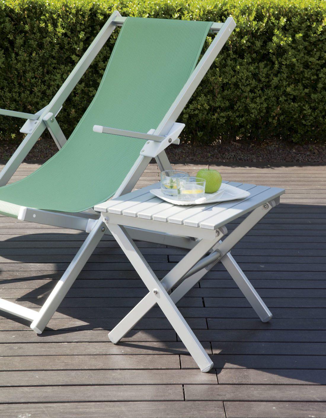 Tavolino pieghevole - Tessitura Selva - arredi e attrezzatura da spiaggia e giardini