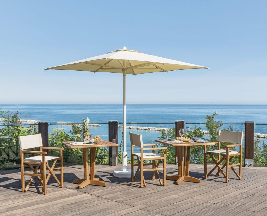 Tavolo Frassino - Tessitura Selva - arredi e attrezzatura da spiaggia e giardini