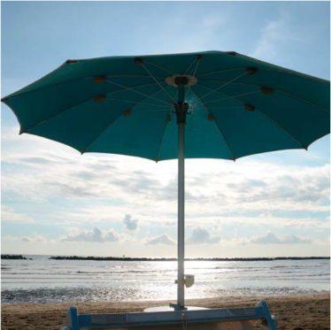 tessitura selva ombrellone picasso tondo spiaggia - Tessitura Selva - arredi e attrezzatura da spiaggia, piscina e giardini