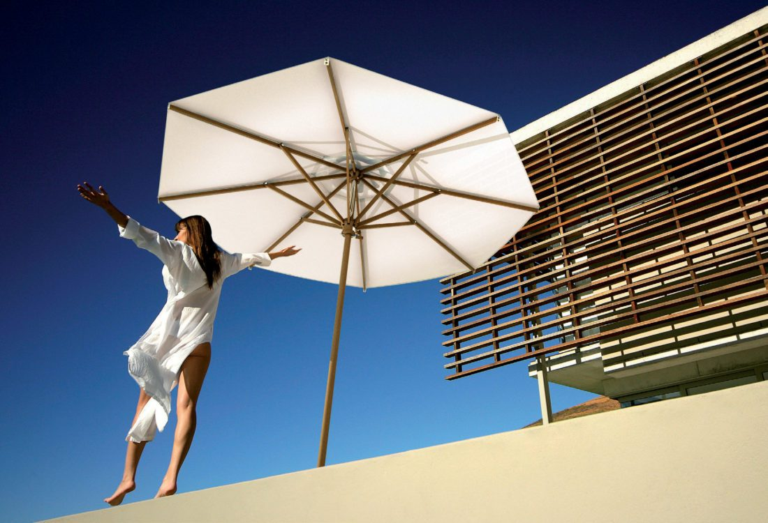 ombrellone standard parasol palladio - Tessitura Selva - arredi e attrezzatura da spiaggia e giardini