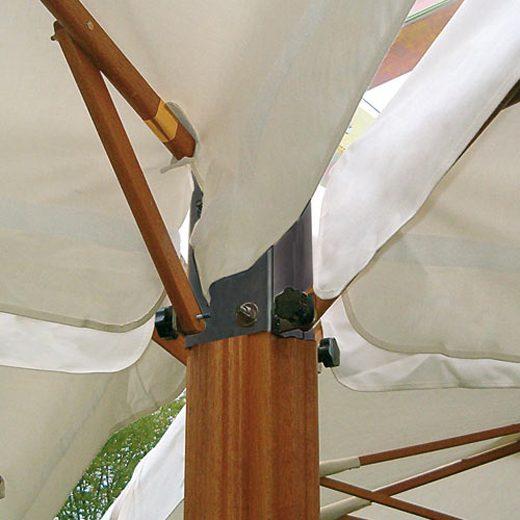 parasol poker gruppo centrale - Tessitura Selva - arredi e attrezzatura da spiaggia e giardini
