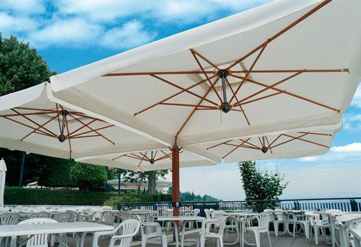 parasol poker - Tessitura Selva - arredi e attrezzatura da spiaggia e giardini