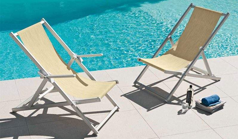sdraio piscina - Tessitura Selva - arredi e attrezzatura da spiaggia e giardini