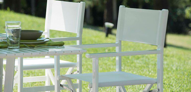 regista sedia - Tessitura Selva - arredi e attrezzatura da spiaggia e giardini